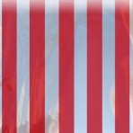 Red Stripes on Silver Liter
